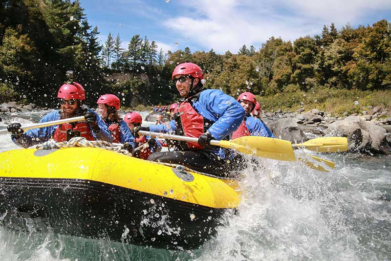 2 White water rafting