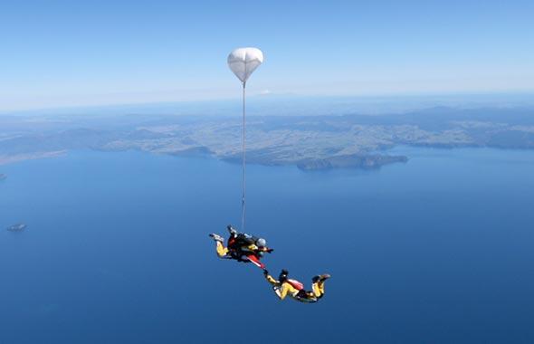 5 Sky diving